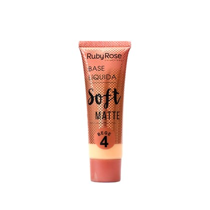 Base Líquida Ruby Rose Soft Bege 4 HB-8050 - 29ml