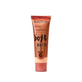 Base Líquida Ruby Rose Soft Bege 6 HB-8050 - 29ml