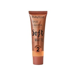 Base Líquida Ruby Rose Soft Matte HB 8050 Cor 2 Chocolate - 29 ml