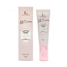 BB Cream Clareador Latika Base Cor Bege Escuro - 30g