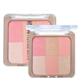 Blush Ruby Rose Soft Touch Blush 6 x 1 Nude cor 3 - HB-6109