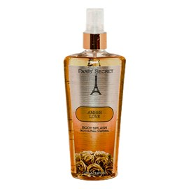 Body Splash Paris Secret Corporal Amber Love - 250ml