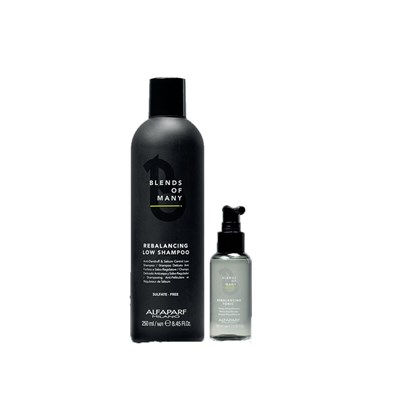 Kit Alfaparf Blends Of Many Anticaspa Shampoo 250ml + Tônico 100ml