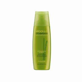 Kit Alfaparf Midollo Di Bamboo Shampoo - 250ml + Máscara Recharging - 150ml + Leave-in - 250ml + Ampola Serum - 15ml