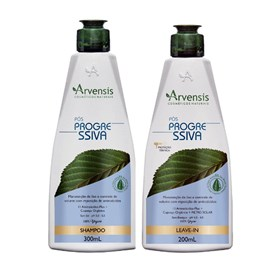 Kit Arvensis Pós Progressiva Shampoo +  Leave-In 200ml