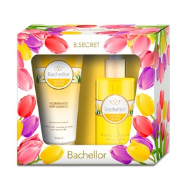 Kit Bachellor Vanilla Dolce Loção Hidratante 200ml + Body Splash 250ml