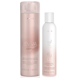 Kit Braé Revival Shampoo 250ml + Spray Intense Shine 150ml