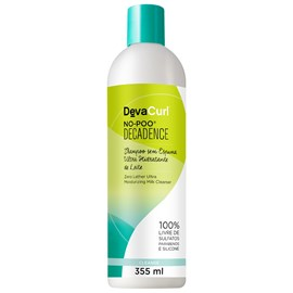 Kit Deva Curl Decadence No Poo, One Condition - 355ml + Supercream, Heaven in Hair - 500g