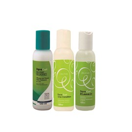 Kit Deva Curl Shampoo Deva Curl Decadence No Poo  + Condicionador One Condition + Ativador de Cachos BLeave-in Texture&Volume - 120ml