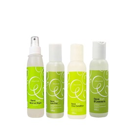 Kit Deva Curl  Shampoo Low poo  + Condicionador One Condition + Ativador de Cachos BLeave-in Texture&Volume + Finalizador Deva Curl Mist-er Right 120 ml