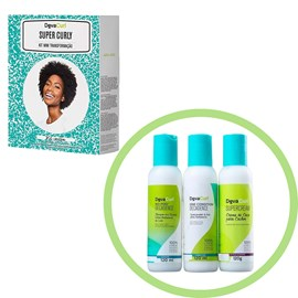 Kit Deva Curl Super Curly Decadence No Poo, One Condition e Supercream - 120ml