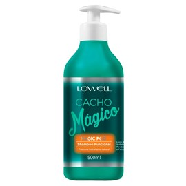 Kit Lowell Cacho Mágico Shampoo - 500ml + Máscara - 450g + Creme Modelador - 500ml