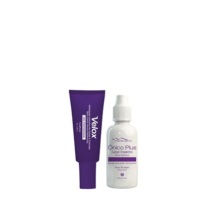 Kit Medicatriz Velox Hidratante de Unhas 8g + Ônico Plus - 30ml