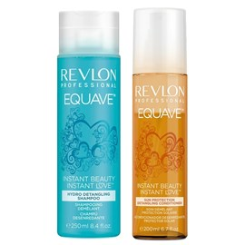 Kit Revlon Equave Detangling Shampoo - 250ml + Condicionador Sun Protection - 200ml