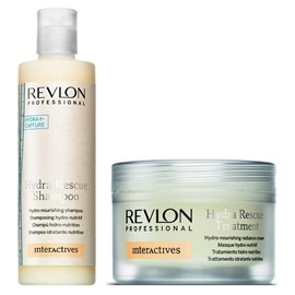 Kit Revlon Hydra Shampoo - 250ml + Máscara - 200ml