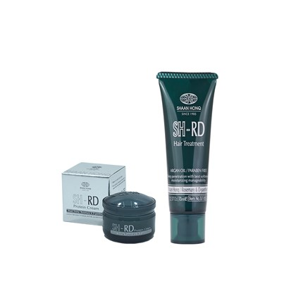 Kit SH-RD Máscara Hair Treatment 70ml + Leave-In Protein Cream - 10ml