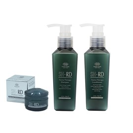 Kit SH-RD Shampoo + Condicionador Nutra Therapy - 140ml + Leave-in Protein Cream - 10ml