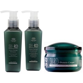 Kit SH-RD Shampoo + Condicionador Nutra Therapy - 140ml + Leave-in Protein Cream - 80ml