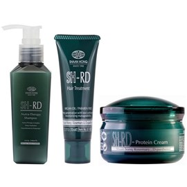 Kit SH-RD Shampoo Nutra Therapy - 140ml + Máscara Hair Treatment - 70ml + Leave-in - 80ml