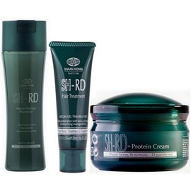Kit SH-RD Shampoo Nutra Therapy - 250ml + Máscara Hair Treatment - 70ml + Leave-in - 80ml