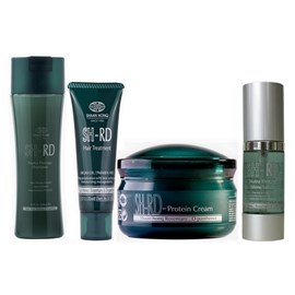 Kit SH-RD Shampoo Nutra Therapy - 250ml + Máscara Hair Treatment - 70ml + Leave-in - 80ml + Serum Shine - 36ml