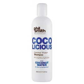 Kit Shampoo 350ml e Condicionador 250ml Phil Smith Coco Licious Coconut Water