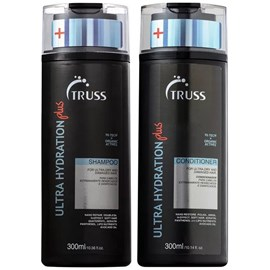 Kit Shampoo e Condicionador Truss Ultra Hydration Plus - 300ml