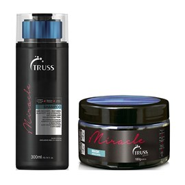 Kit Truss Miracle Shampoo - 300ml + Máscara - 180g