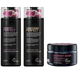 Kit Truss Perfect Shampoo + Condicionador - 300ml + Máscara - 180g