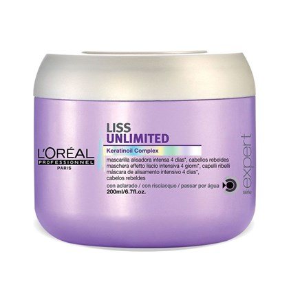 Máscara L'Oréal Liss Unlimited - 200g
