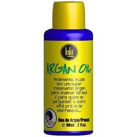 Óleo de Argan Lola Cosmetics Argan Oil Pracaxi - 60ml
