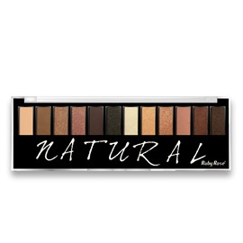 Paleta de Sombras Ruby Rose HB-9908 Natural 12 Cores - 17,5g