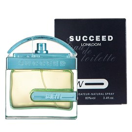 Perfume Masculino Lonkoom Succeed EDT - 100ml
