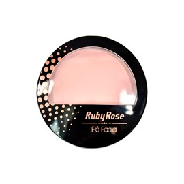Pó Compacto Facial Ruby Rose HB-7212 Cor 20 Natural - 10,5g