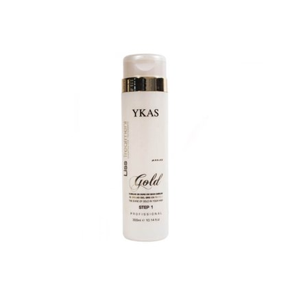 Shampoo Ykas Liss Treatment Gold Step 1 - 300ml