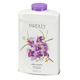 Talco Perfumado Yardley April Violets - 200g